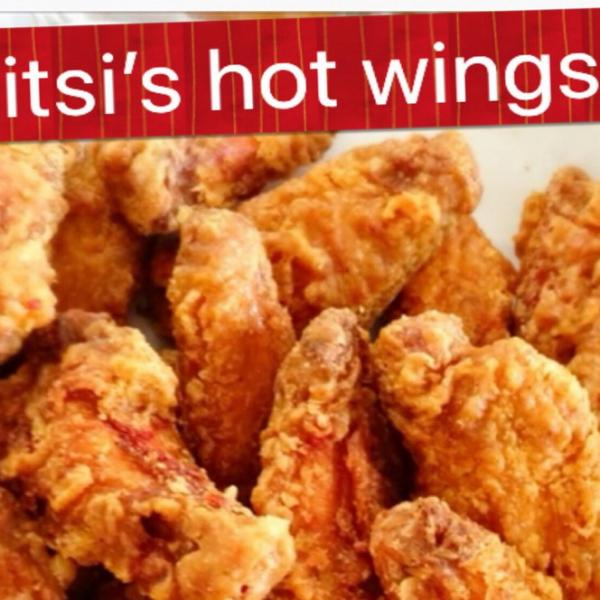 Pitsi's hot wings