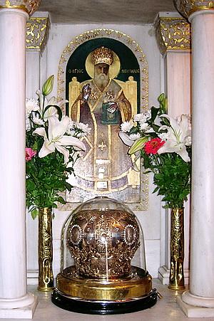 Αποτέλεσμα εικόνας για αγιος νεκταριος αιγινα