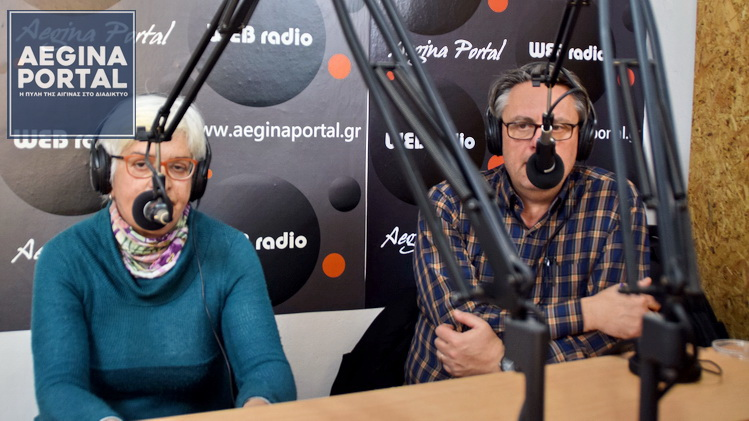 Ο Χρήστος Ρέππας και η Λιλίκα Λυκούρη για την Παγκόσμια Ημέρα της Γυναίκας.
