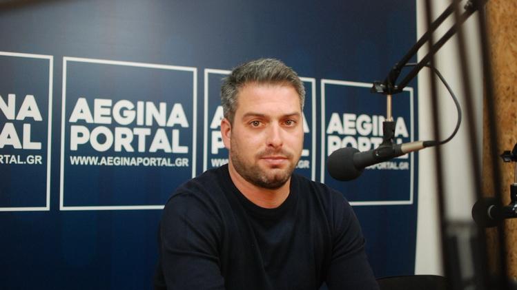 Ο πρόεδρος της Κοινότητας Αίγινας κ. Παναγιώτης Κασιμάκης για το ξεκίνημα του νέου συμβουλίου.