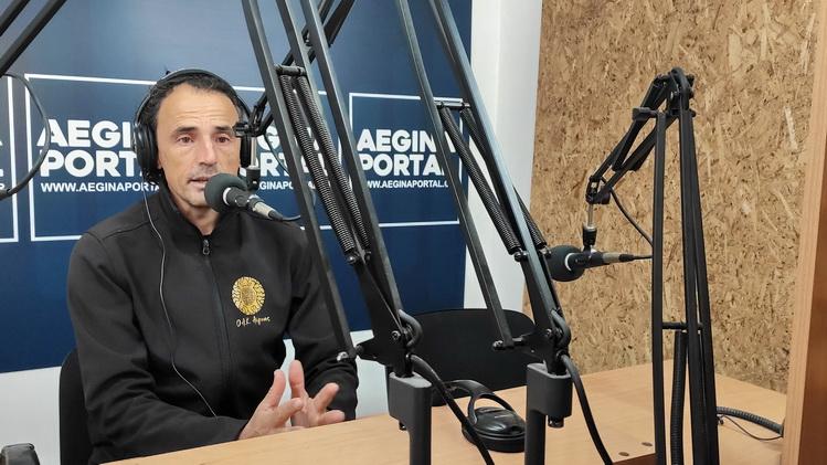 Ο Βασίλης Ζαμπέλης για τον 9ο Αγώνα Δρόμου Ιωάννης Καποδίστριας. Οι τελευταίες πληροφορίες για την μεγαλύτερη αθλητική διοργάνωση της Αίγινας.