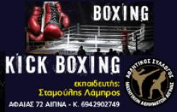 Boxing - King Boxing - Λάμπρος Σταμούλης